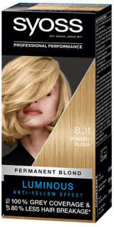 Syoss Permanent Coloration Powdry Blond 8_11