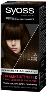 Syoss Permanent Coloration Sweet Brunette 3_8