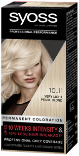 Syoss Permanent Coloration Very Light Pearl Blond 10_11