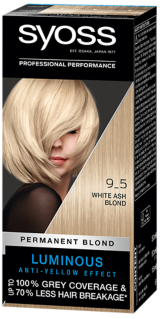 Syoss Permanent Coloration White Ash Blond 9_5