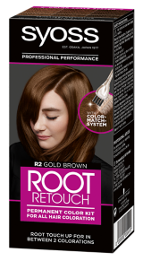Syoss Root Retouch Color Kit Gold Brown