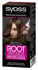 Syoss Root Retouch Color Kit Light Medium Brown