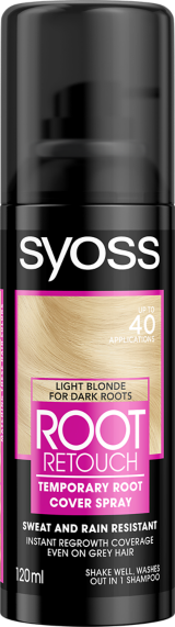 Syoss Root Retouch Cover Spray Light Blonde