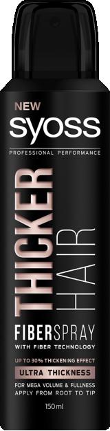 Utrwalający spray do włosów Syoss Thicker Hair Fiber