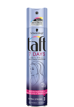Thumbnail – Lak na vlasy Taft 7 Days