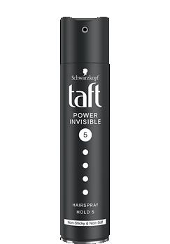 Thumbnail – Lak na vlasy Taft Invisible Power