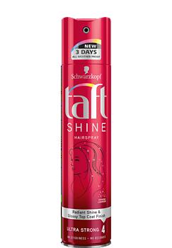 Thumbnail – Lak na vlasy Taft Shine