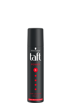 Thumbnail – Lak na vlasy Taft Power Mini