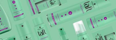 Taft Volume normales Haar Header Mobile