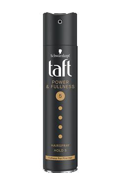 Thumbnail – Lak na vlasy Taft Powerful Age