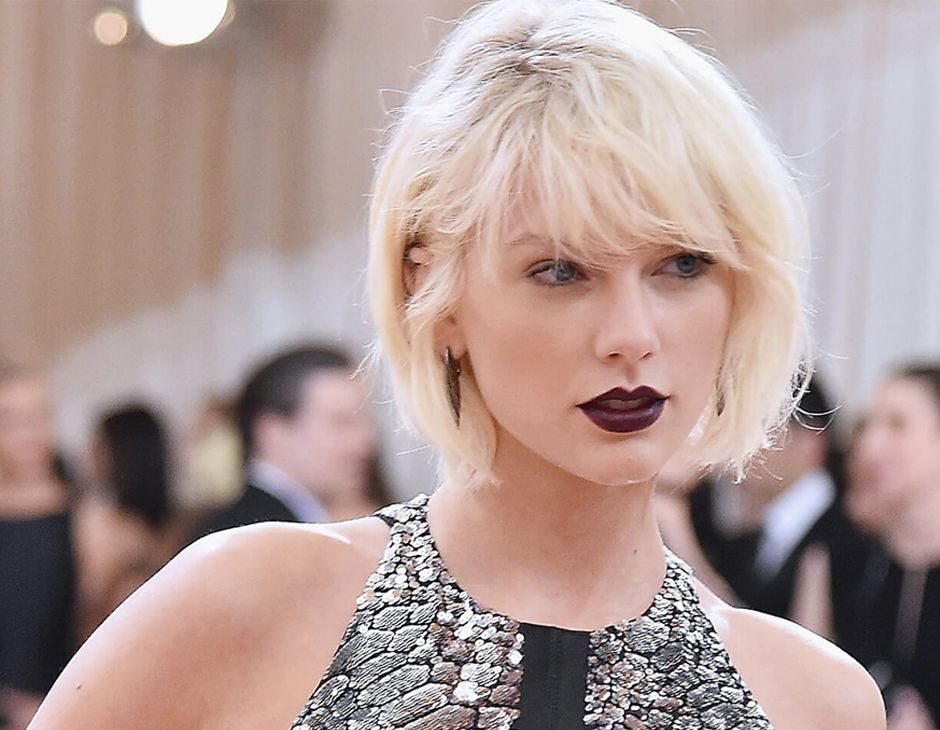 Taylor Swift blond peroxydé