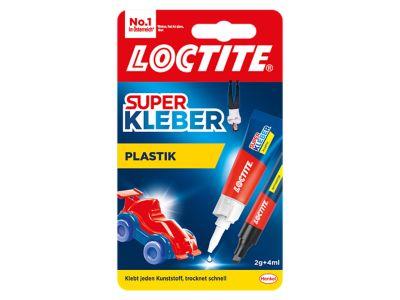Superkleber Plastik