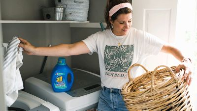 washer and dryer with all stainlifters odor lifter liquid laundry detergent