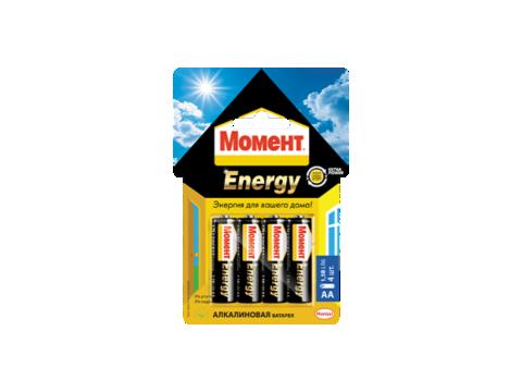 Алкалиновые батарейки «Момент Energy» АА