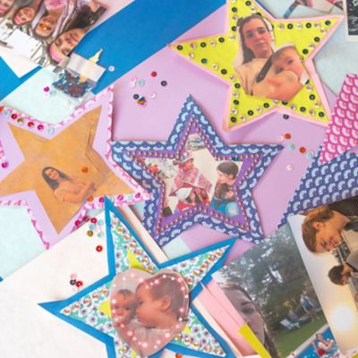 Star crafts made from paper turn your home into a memory lane