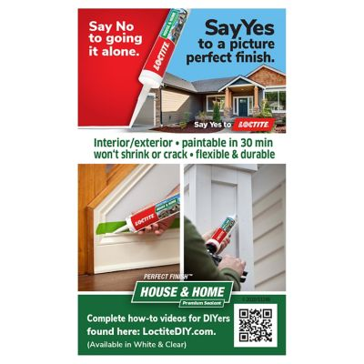 LOCTITE PERFECT FINISH™ HOUSE & HOME SEALANT