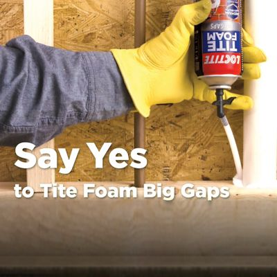 TITE FOAM Big Gaps Insulating Foam Sealant