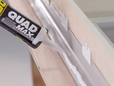 Securing A Building Envelope With Bedding Beads