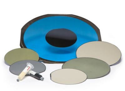 Array of materials necessary of Wafer Backside Coating process.