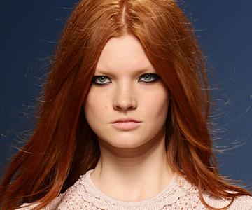 Warme-Haarfarben