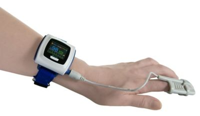 Wearable pulse oximeter protection