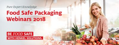 Henkel Food Safe Packaging Seminario web: Risk Assessment of NIAS in Food Contact Adhesives