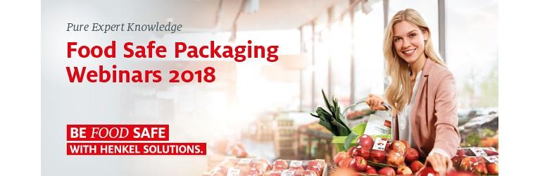 Henkel Food Safe Packaging Webinar: Risk Assessment of NIAS in Food Contact Adhesives