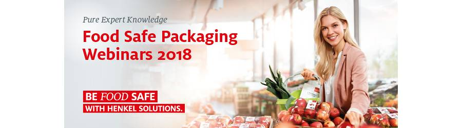 Henkel Food Safe Packaging webinars 2018