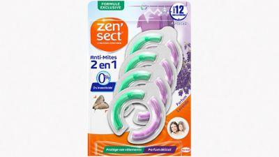 Zen'Sect Crochets Anti-Mites 2en1 Parfum Lavande