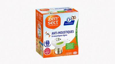 Zen'Sect Diffuseur Électrique 60 Nuits Anti-Moustiques